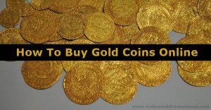 How To Buy Gold Coins Online