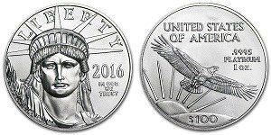 US Platinum Eagle Coin
