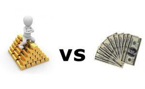 gold vs money